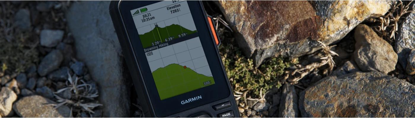 Garmin Montana, eTrex og GPSMAP: hvad er forskellen?