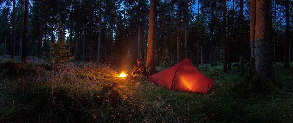 Rengøring af telt