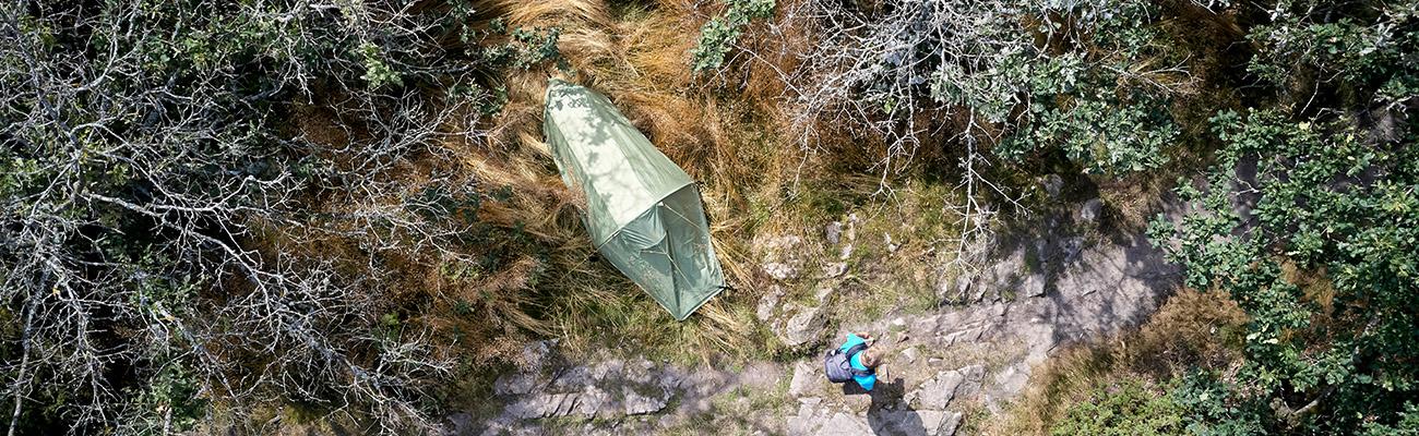 Reperation af telt