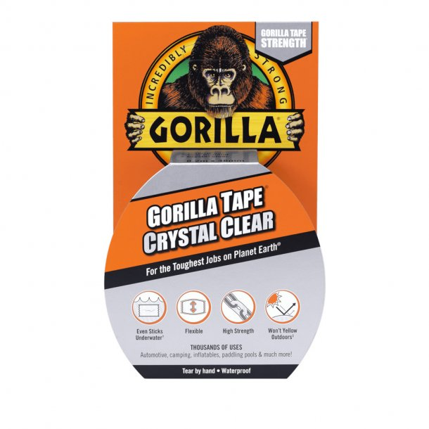 Gorilla Glue - Tape Crystal Clear 8,2 m