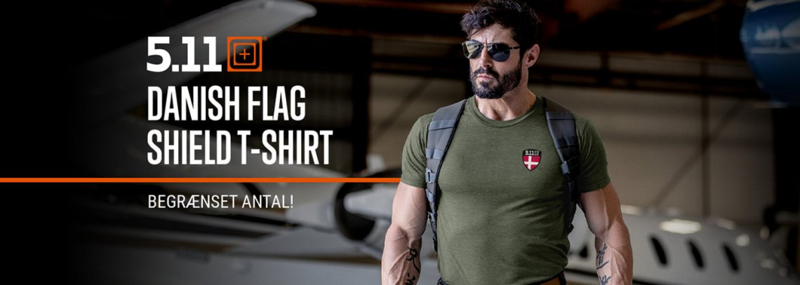 Banner: Nyhed fra 5.11 - Limited Edition T-Shirt<br>