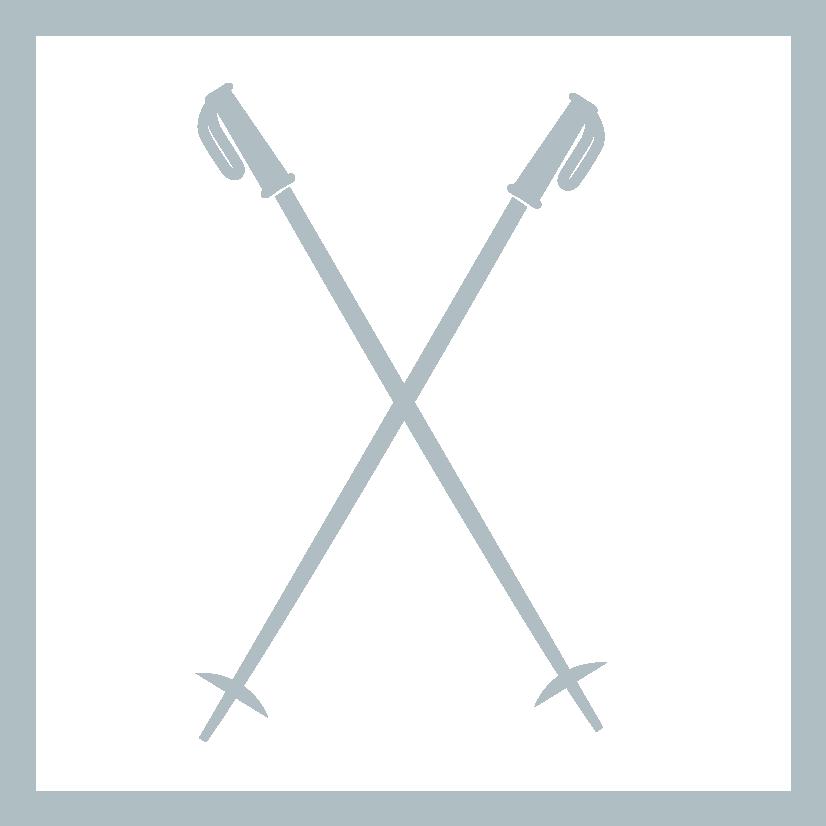 Vandrestave ikon