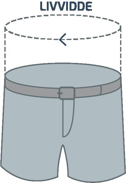Bukser størrelsesguide