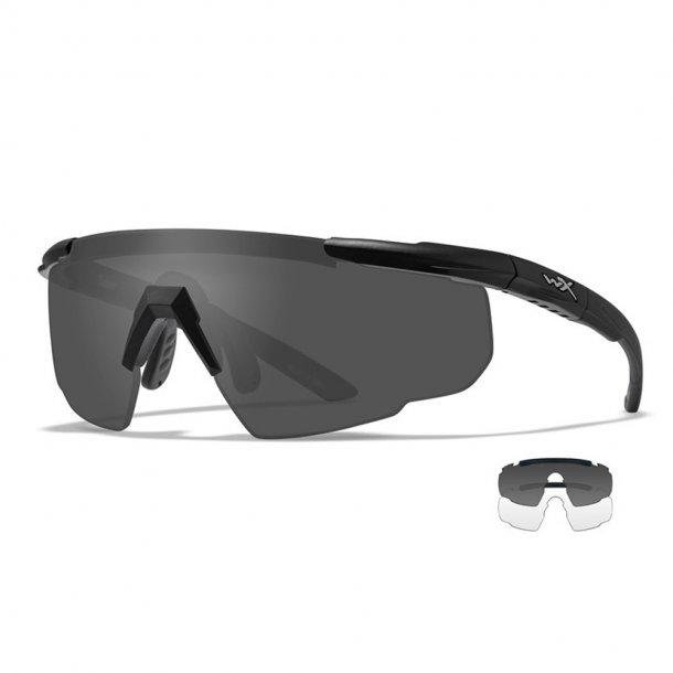 Wiley X - Saber Advanced Ballistiske Briller - 2 Linser