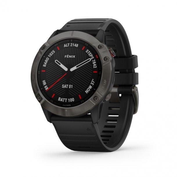 Garmin - Fenix 6X Sapphire Multisports GPS Ur