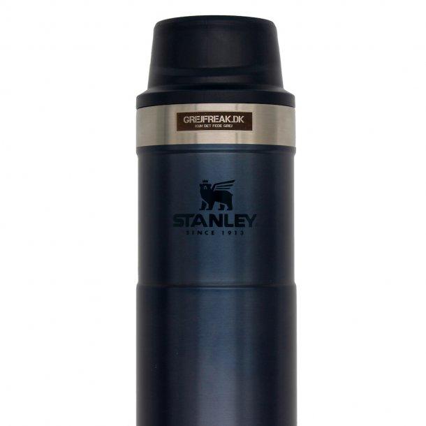 Stanley - Classic One Hand Vacuum Mug 2.0 (0,35L) m. firmalogo