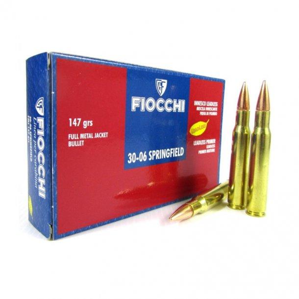 Fiocchi - 30-06 FMJ Riffelammunition (20 stk.)