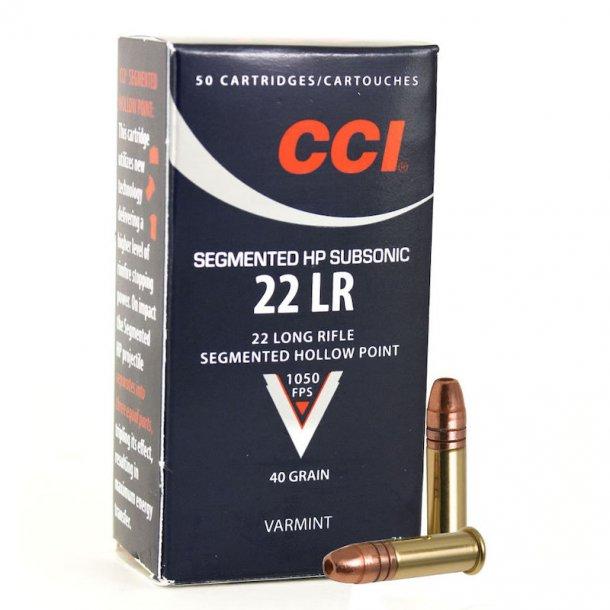 CCI - Segmented HP Subsonic Salonpatroner (50 stk.)