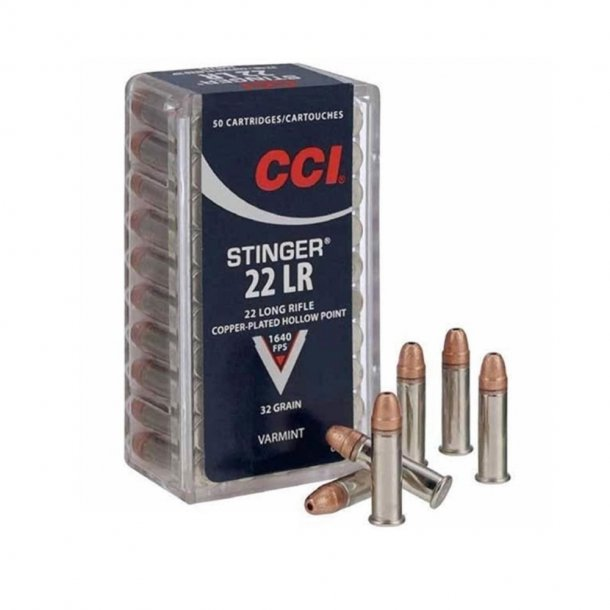 CCI - 22lr. Stinger 32gr CPHP 50 stk
