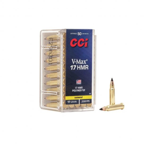 CCI - 17HMR 17g V-Max 50 stk