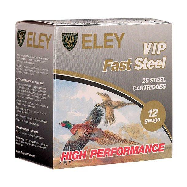 Eley - VIP Fast Steel Jagtpatroner (25 stk.)