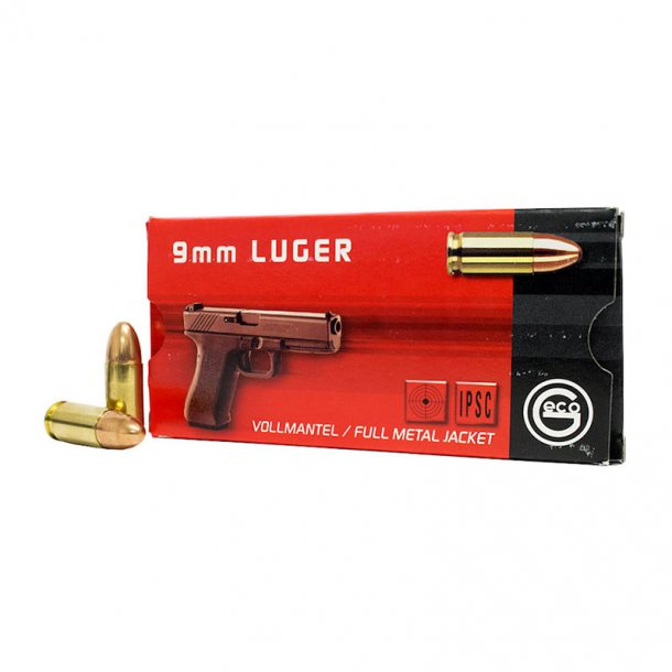 Geco - 9mm Luger FMJ Ammunition