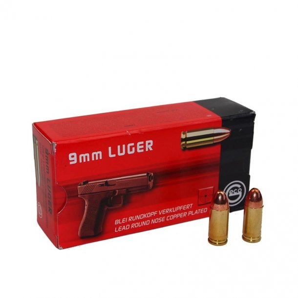 Geco - 9mm Luger Bly/coated Ammunition