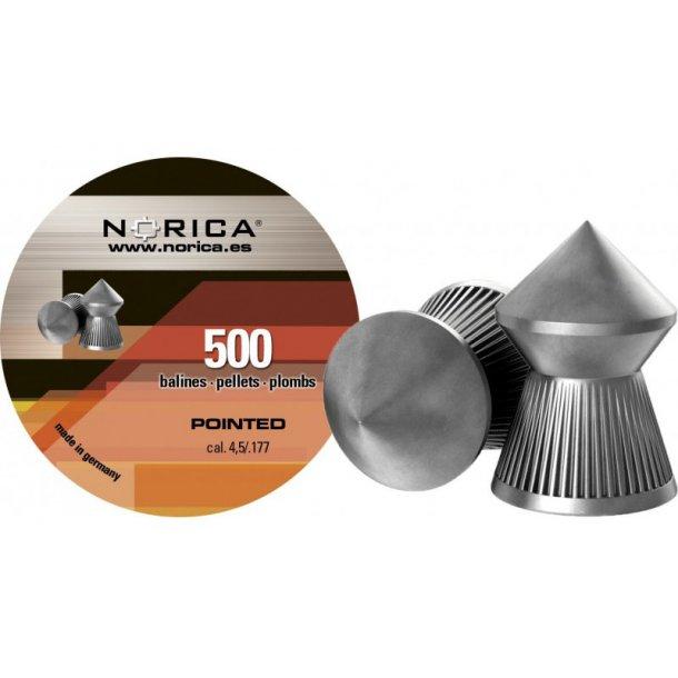 Norica - Model Pointed Hagl 4,5 mm (500 stk.)