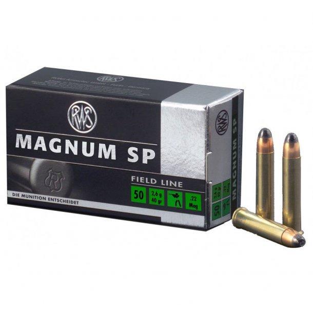 RWS - Magnum SP Salonpatroner (.22 Mag)