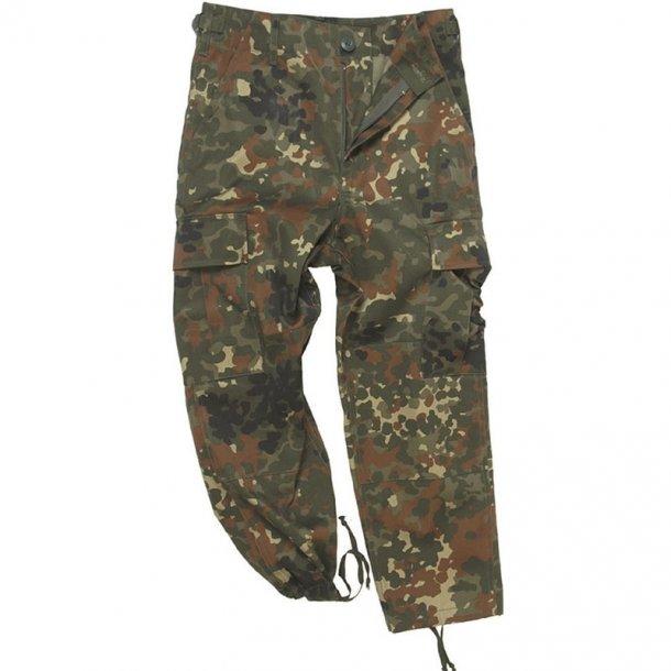 Mil-Tec - Camouflage Bukser Til Børn