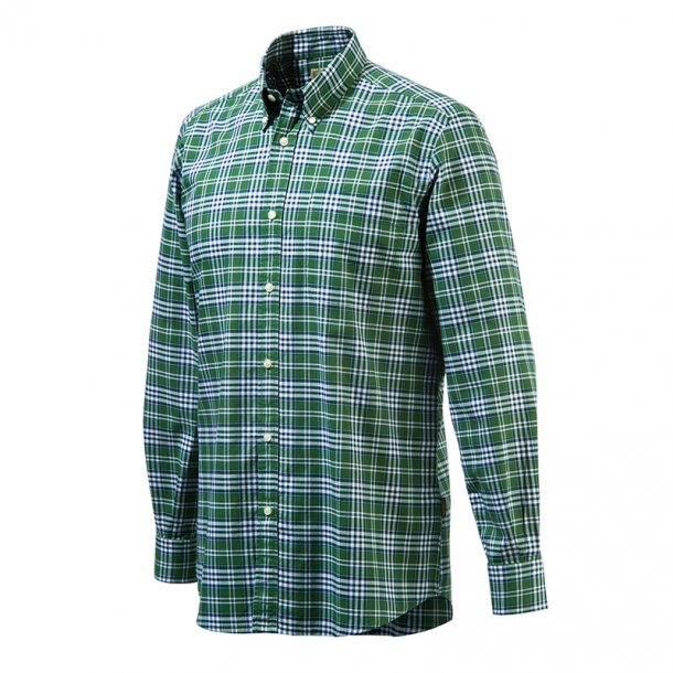 Beretta - Classic Skjorte (grønternet)