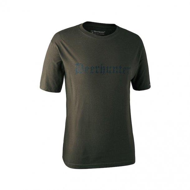 Deerhunter - Kortærmet T-shirt Med Deerhunter Tryk