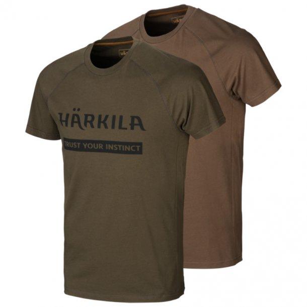 Härkila - Logo T-shirt (2-pak)
