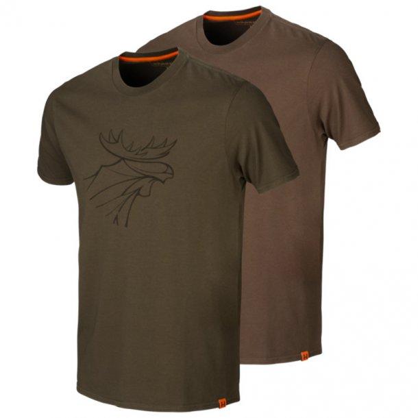Härkila - Graphic T-shirt (2-pak)