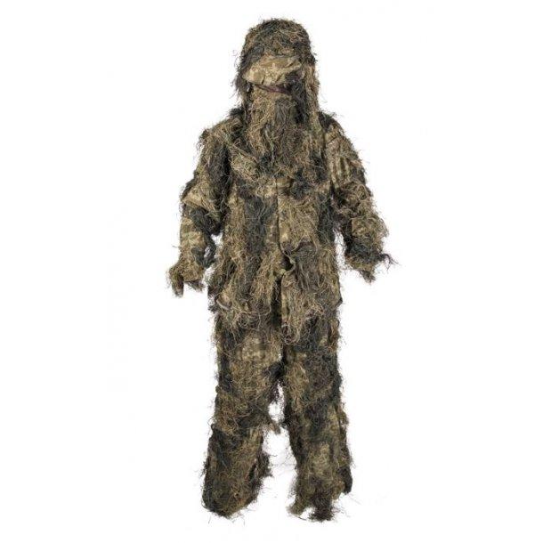Mil-Tec - Woodland Ghillie Suit (4 dele)