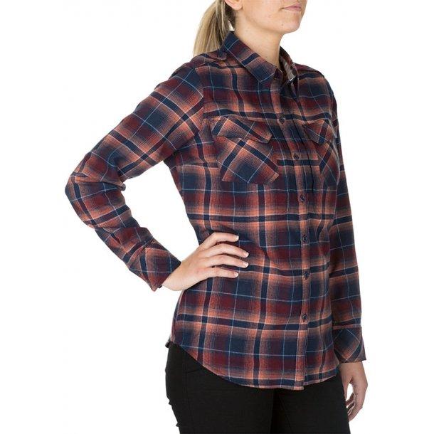 5.11 - Women's Heartbreaker Flannel Skjorte