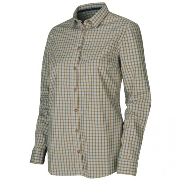 Härkila - Selja Check Heritage Langærmet Dameskjorte