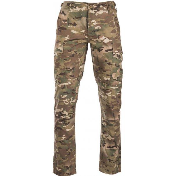 Teesar - BDU Field Slim Fit Camo Bukser