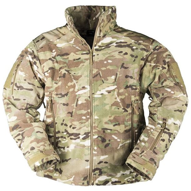 Mil-Tec - Delta-Jacket Fleece Multiarn