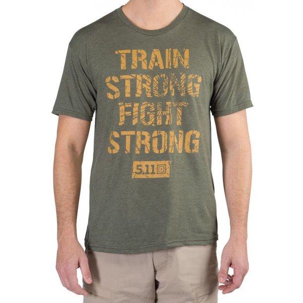 5.11 - Train Strong T-shirt