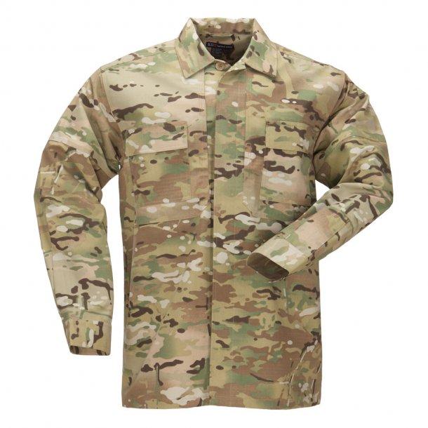 5.11 - MultiCam TDU Shirt - Long Sleeve, Ripstop