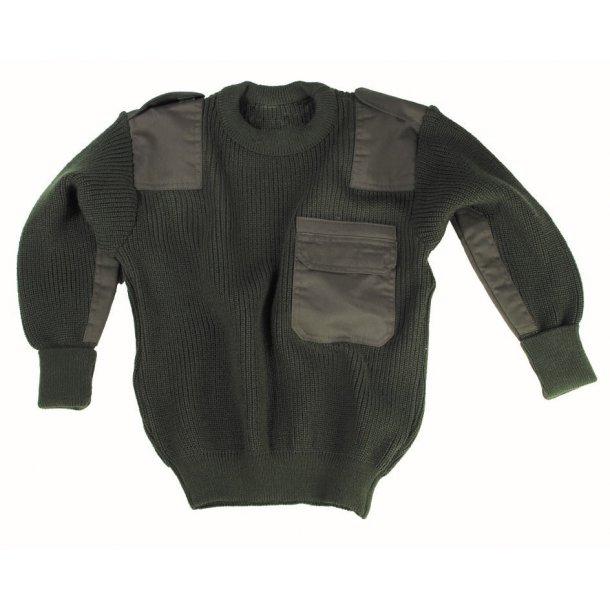 Mil-Tec - Armygrøn Sweater Til Børn