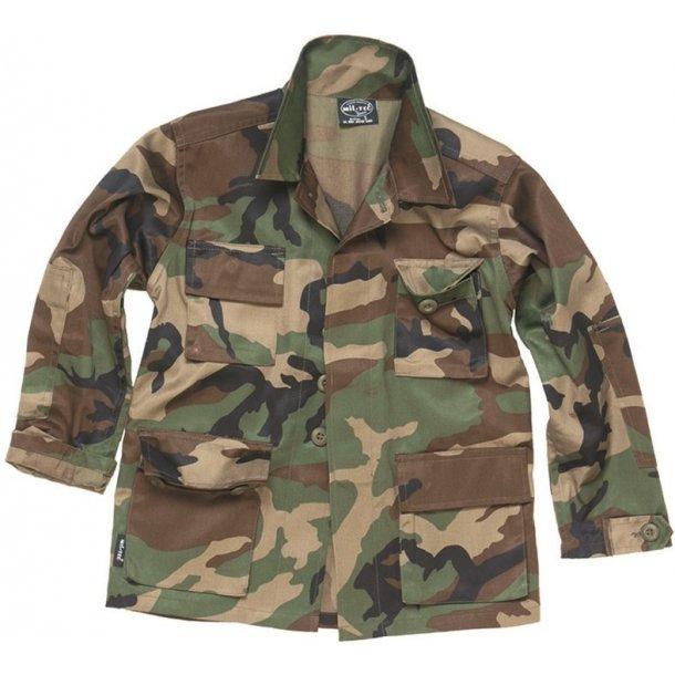 Mil-Tec - Camouflage Jakke Til Børn
