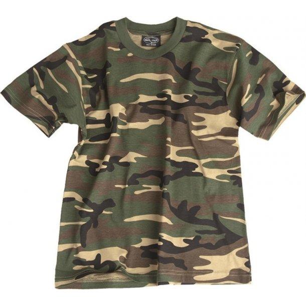 Mil-Tec - Camo T-shirt Til Børn