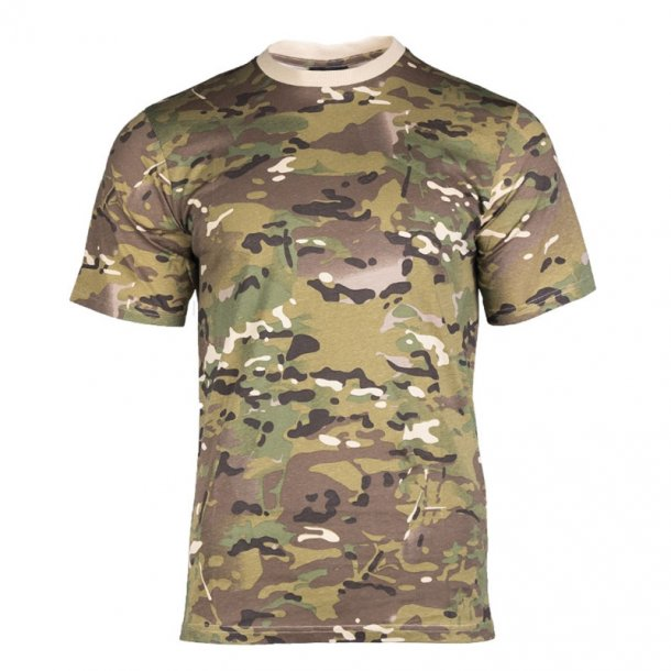 Mil-Tec - Multiterræn T-Shirt i bomuld