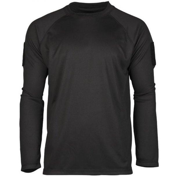 Mil-Tec - Tactical Quick Dry Langærmet T-Shirt