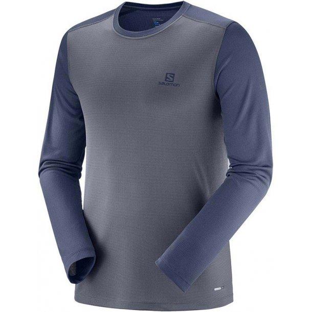 Salomon - Man Stroll Langærmet T-Shirt