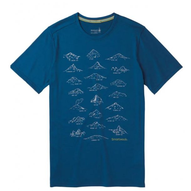 Smartwool - Merino Sport 150 Prominent Peaks T-shirt