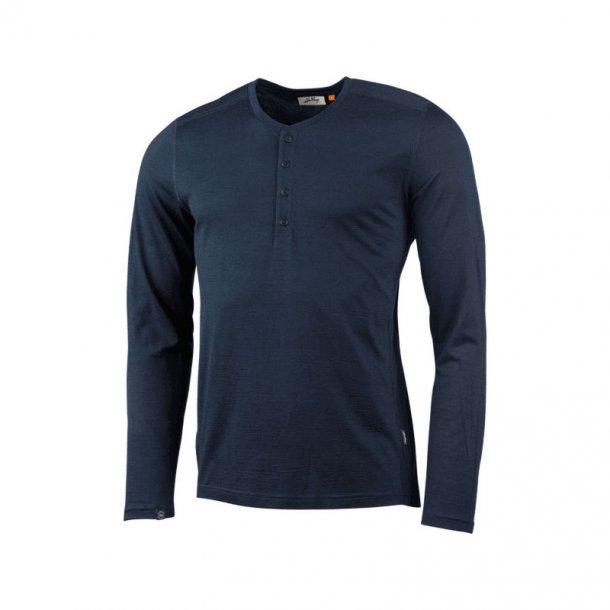 Lundhags - Merino LT MS Henley Langærmet T-Shirt