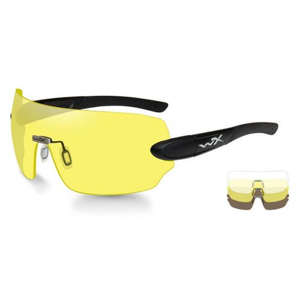 Wiley X - Detection Skydebriller - 3 Linser