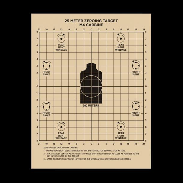 Rite In The Rain - 25 Meter Target Skydeskiver (25 stk)