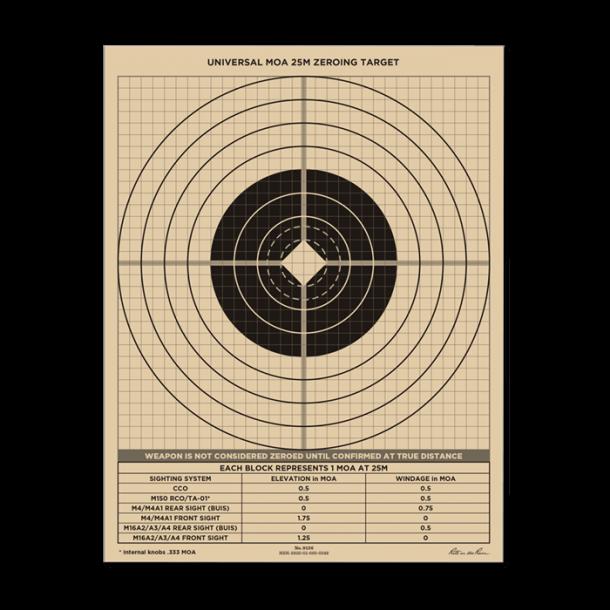 Rite In The Rain - 25 Meter Target (100 stk)