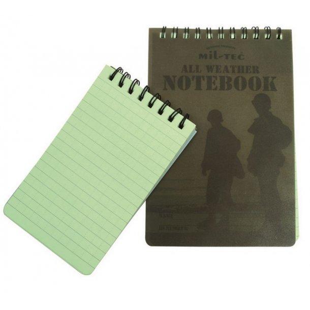 Mil-Tec - Tactical Notebook Lårlomme 10 x 15 cm