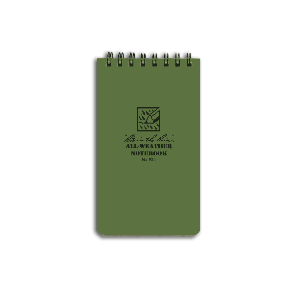 Rite In The Rain - Tactical Notebook Brystlomme 8 x 13 cm