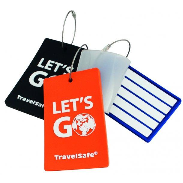 TravelSafe - Adresse Label