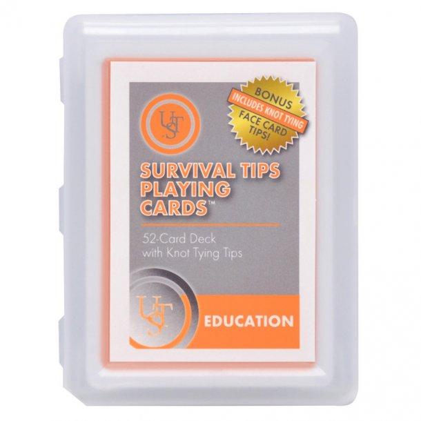 UST - Overlevelse Spillekort med Knobtips