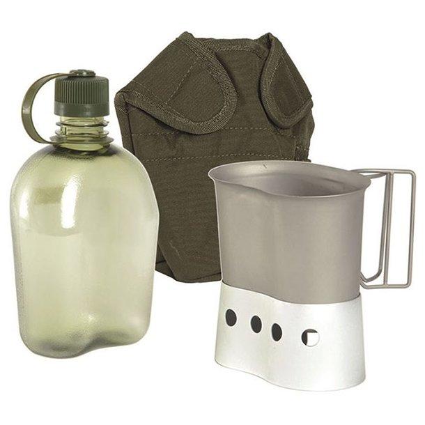 Mil-Tec - Feltflaske Sæt