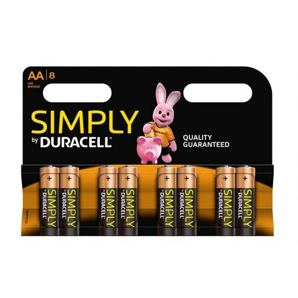 Duracell - LR6 AA (8-pak)