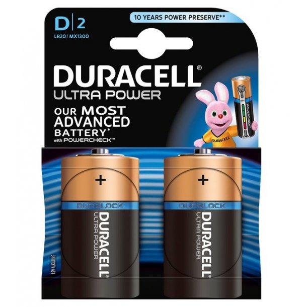 Duracell - LR20 (2-pak)