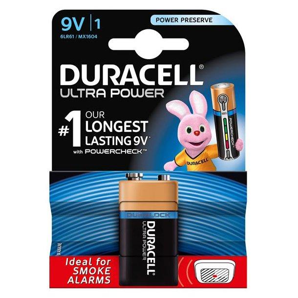 Duracell - Ultra 9V (1-pak)